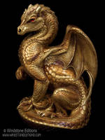 Golden Secret Keeper dragon by Reptangle