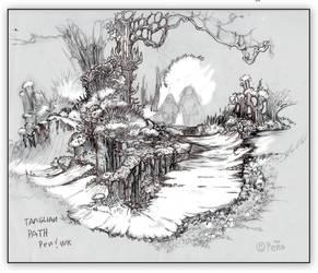 Tanglian Path by Reptangle