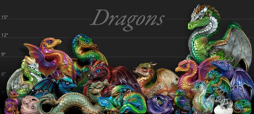 Dragon line up by Reptangle
