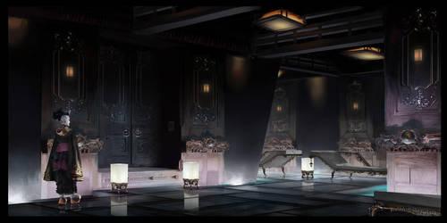 Neo-Meiji Designproject . corridorset (modular) by Undercurrent-32