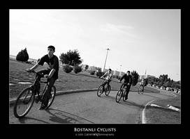 Bostanli Cyclists by superKeci