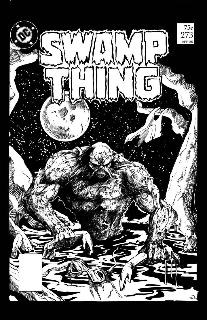 Swamp Thing, Sophisticated Suspense by judsonwilkerson