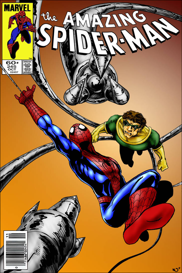 the Amazing Spider-Man mock cover colored by judsonwilkerson