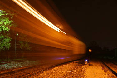 Midnight train by elverloho