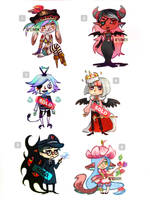 Mixed Adopts (Points/Paypal) by KuAdopts
