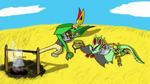 My Pokemon Team by zyronblade