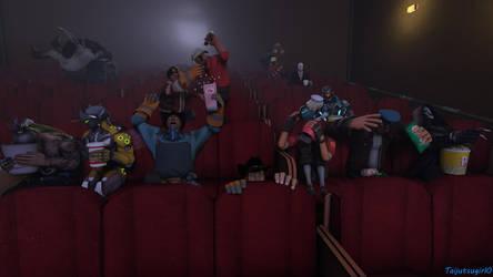 Horror Movie Night [TF2/Overwatch] by Taijutsugirl0