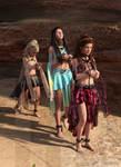 diNorian - Three Slaves Pulling (dA) by diNorian