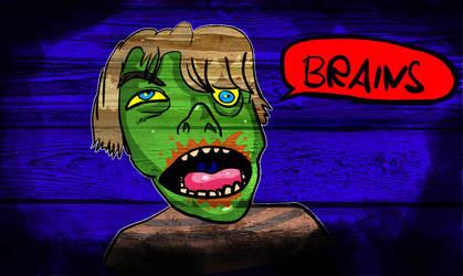 Zombie Boy by MarkP0rter