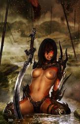 The Last Raven_NUDE by tariq12