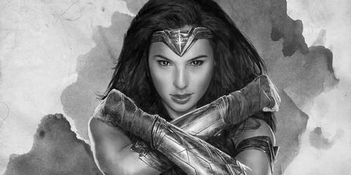 WONDER WOMAN _GAL02 DRAWING by tariq12