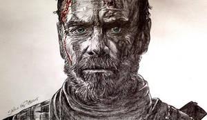 Michael Fassbender - Macbeth by Larkistin89