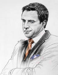 Raul Esparza - Rafael Barba by Larkistin89