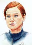 Mary Wiseman - Sylvia Tilly - Star Trek Discovery by Larkistin89