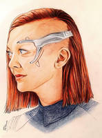 Emily Coutts - Keyla Detmer - Star Trek Discovery by Larkistin89