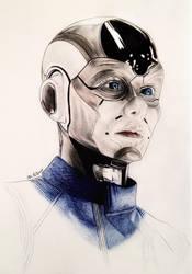 Sara Mitich - Airiam - Star Trek Discovery by Larkistin89