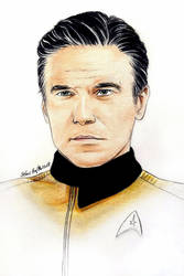 Anson Mount - Captain Pike  by Larkistin89