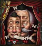 Le ventriloque by theartofTenia