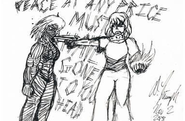 Janna and Yaska - Peace at any Price by Tehufn