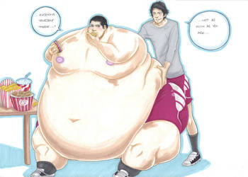 'not so skinny, defenceless, stiles' part 3 by prisonsuit-rabbitman