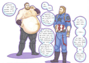 capgain america and thor part 1 by prisonsuit-rabbitman