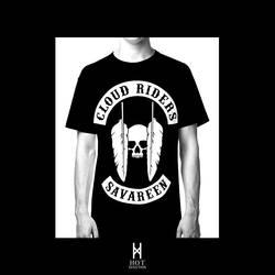 Cloud Riders MC T-Shirt by elhot