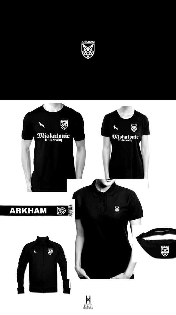 Arkham Football Club Hooligan by elhot