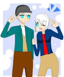 Hitsugaya Twins as Hamada Brothers by Ice-Snow-Princess101