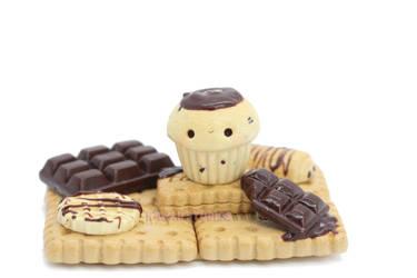 Chocolate Heaven Figurine by xoxRufus