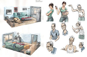 DNPN Sketches by Rulzdemol