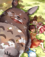 Totoro - Halcyon Days by Illycia