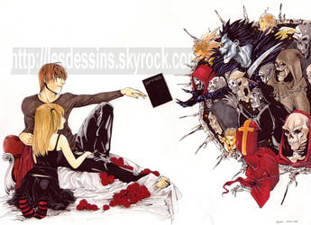 death note echange  colo by sipries