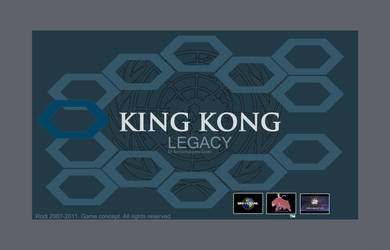 01. King Kong Legacy Cover. by Dezarath