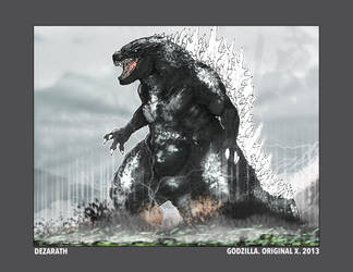 Godzilla.Original X. 2013 by Dezarath
