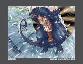 Godzilla. Blackhole Sun. 2012 by Dezarath