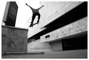 Run easy. Skate easy. by sirbaton
