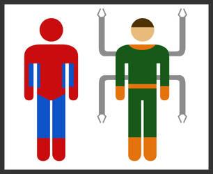 Simple Heroes by thisisanton