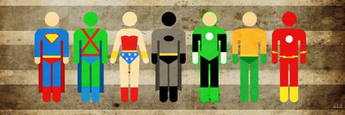 Picto Heroes: JLA by thisisanton