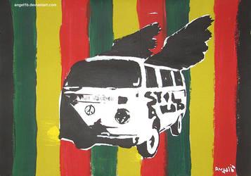 flying van by angel1b