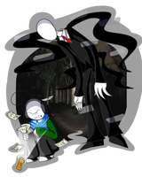 YouTuber Vs. Slender - Cryaotic by Spaced-Out-Xandy
