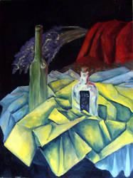 Cezanne study by Argleblather
