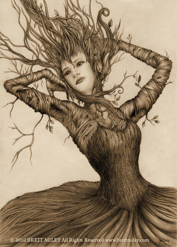 Dancing Treegirl by BMiley