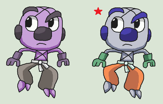 Pre Evolution Of Throh And Sawk Concept Design By Ericgl1996 On