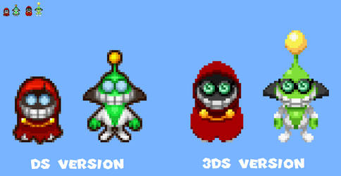 Partners In Time Fawful sprites (ML3DS style) by ericgl1996