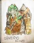 TMNT OC: Oliverio (Oliver) by SpiderDetentionaire