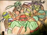 Teenage Mutant Brothers Ninja Turtles by SpiderDetentionaire