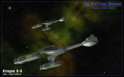 Klingon D6 Duo by helot