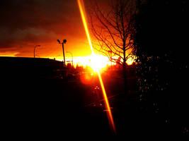 as the sun says goodnight by tadba