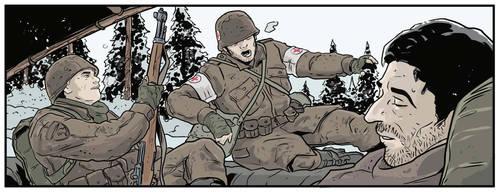 WW2 Battle for Bulge by kriticni