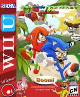 Super Sonic Sendoff Stream and Knuckles! by Fujuzakinc
